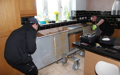 skr kitchen worktop home removal men